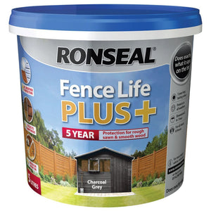 Ronseal - Fence Life Plus+ 5l - Charcoal Grey