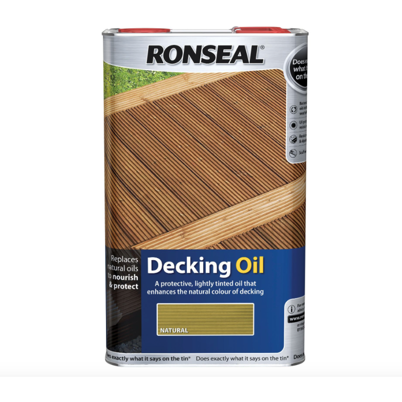Ronseal - Decking Oil Natural Cedar 2.5l