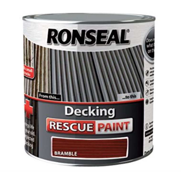 Ronseal - Decking Rescue Paint Charcoal 2.5l