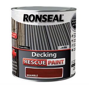 Ronseal - Decking Rescue Paint White Ash 2.5l