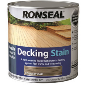 Ronseal - Decking Stain Rich Mahogany 2.5l