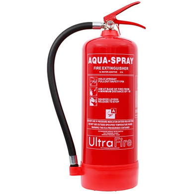 A Range of Ultrafire 6 litre Extinguishers - Trade Angel