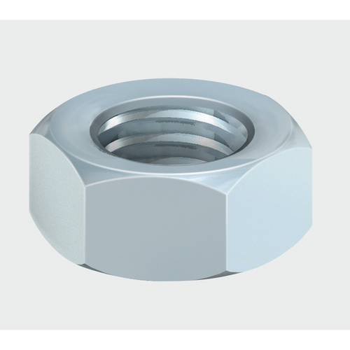 Hex Full Nut Zinc (DIN934) - Trade Angel