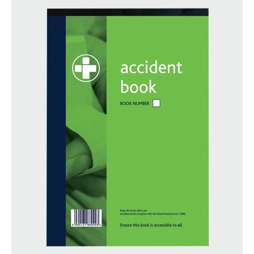 Accident Book - Trade Angel - riddor book,  workplace accident book,  riddor accident book,  accident book at work