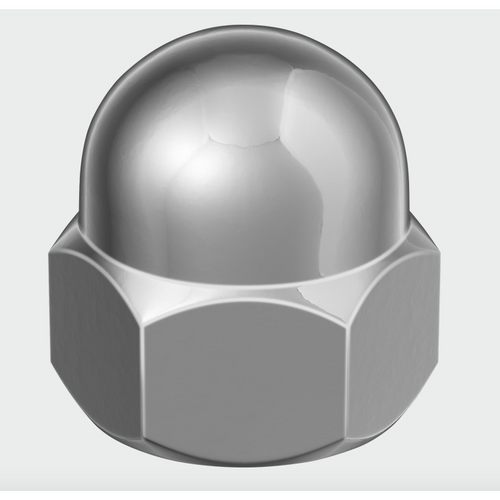 Hex Dome Nut Stainless Steel - Trade Angel