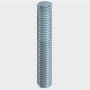 BZP Threaded Rod 300mm (DIN975) - Trade Angel