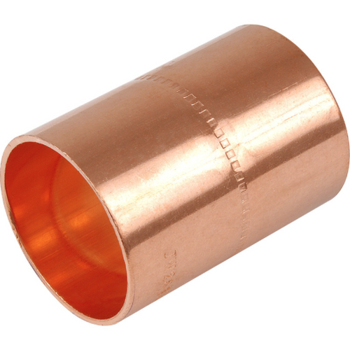 Copper Imperial Metric Coupler - Trade Angel