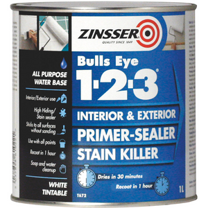 Zinsser 1-2-3 Primer Sealer 1l - Trade Angel