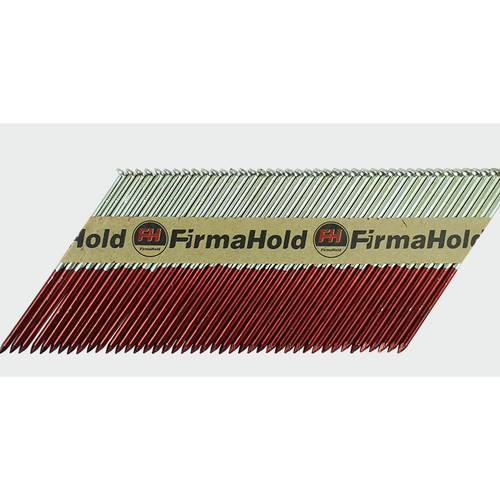 FirmaHold Collated Clipped Head Nails & Gas ST - F/G - Trade Angel - firmahold nails 90mm,  34 degree framing nails