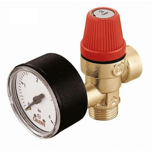 "1/2"" Safety Valve and Gauge - Trade Angel"