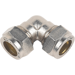 15mm Chrome Compression Fittings - Trade Angel