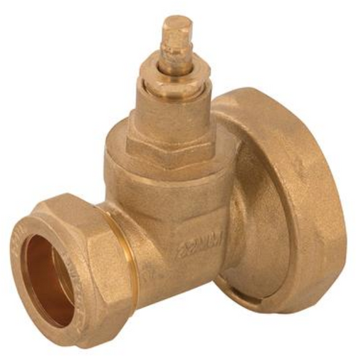 Brass Compression Gate Pump Valve - Trade Angel