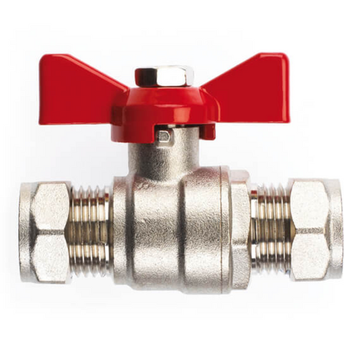 Butterfly Lever Water Ball Valves - Full Bore - Compression - Trade Angel