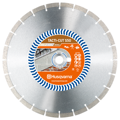 Husqvarna Tacti Cut S50 350mm Diamond Blades