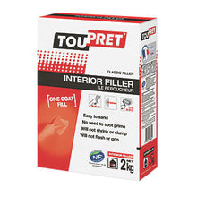 Load image into Gallery viewer, Toupret - Le Reboucheur Interior Filler - 2, 5 & 10 kg bags - Trade Angel