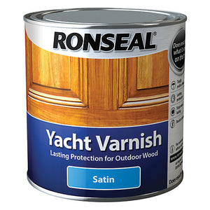 Ronseal - Yacht Varnish - Satin - 2.5l