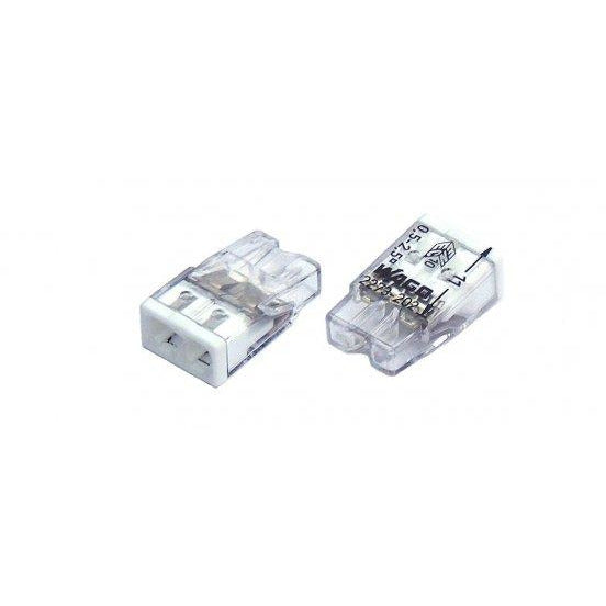 WAGO Compact Push Wire Connector 2.5mm - packs of 5 - Trade Angel