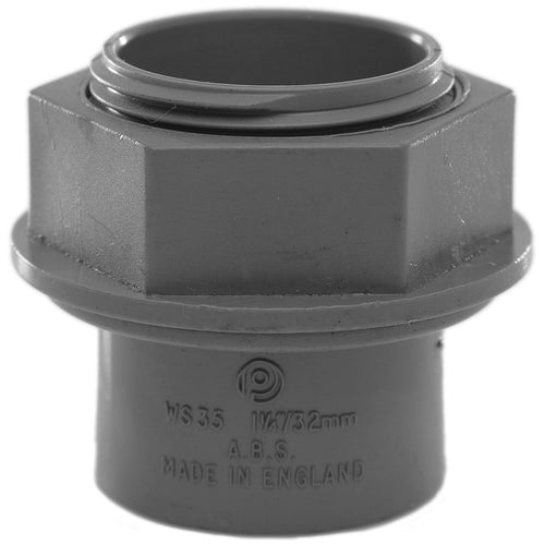 PolyPlumb Tank Connector - Grey - Trade Angel