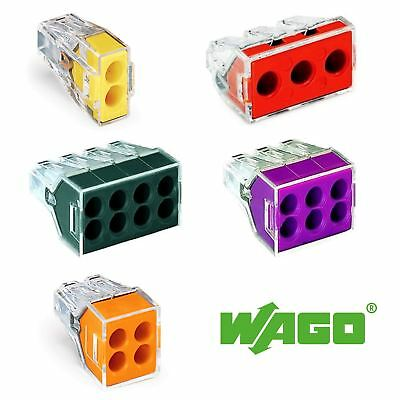 Wago 773-102 Push Wire Connector 0.75 - 2.5mm - packs of 5 - Trade Angel