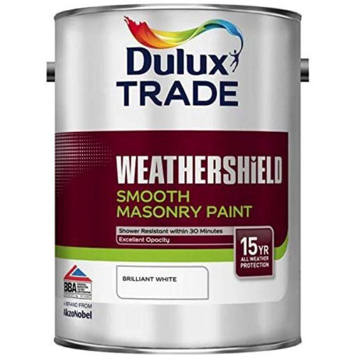 Dulux Trade Weathershield Smooth Masonry 5L (Pre-Mix)