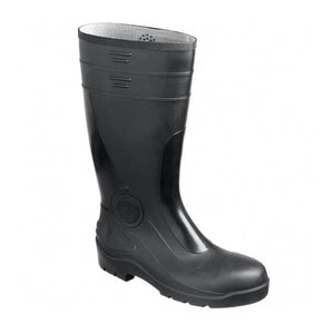 Black Safety Wellington Boots - Trade Angel