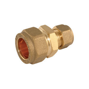Brass Compression Reducing Coupler 15mm x 12mm (Clearance) - Trade Angel