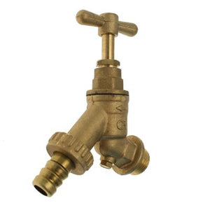 Brass Double Check Valve Hose Union Bibcock - Trade Angel