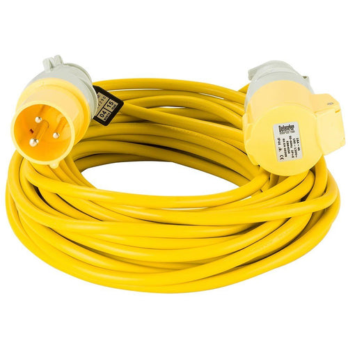 DEFENDER 110V EXTENSION LEAD - 14m - Trade Angel