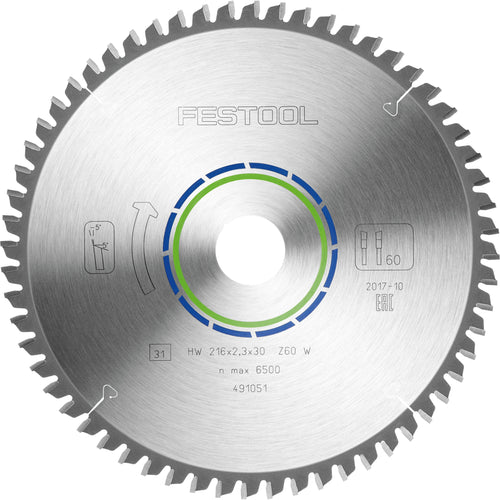 Festool 216mm x 2.3 x 30 blades 60 teeth - Trade Angel
