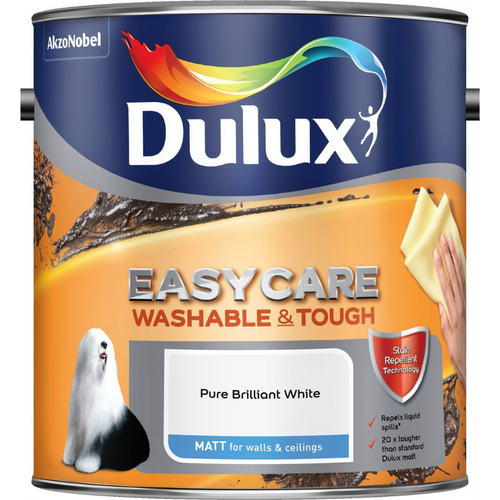 Dulux Retail Easycare Washable & Tough Matt - Pure Brilliant White