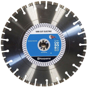 The proper blade for the Husqvarna K400 electric wet cut saw
