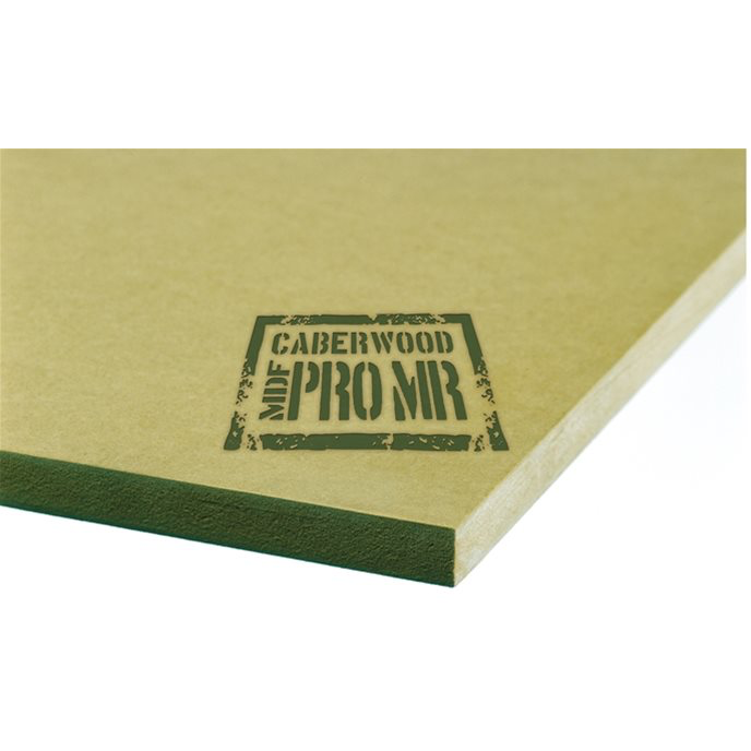 Caberwood Trade Moisture Resistant (green) MDF 2440 x 1220 - Trade Angel