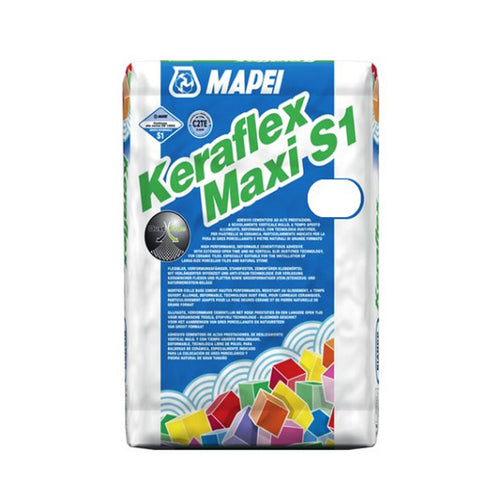 MAPEI KERAFLEX MAXI S1 WHITE TILE ADHESIVE - Trade Angel