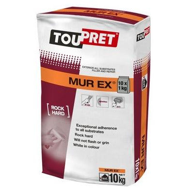 Toupret MUR EX - All Substrates Repair Filler - Exterior - 5, 10, 15kg bags - Trade Angel