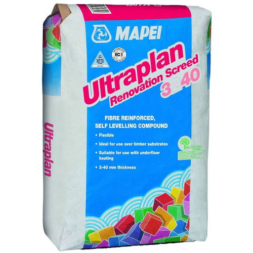 MAPEI ULTRAPLAN RENOVATION LEVELLING COMPOUND - Trade Angel