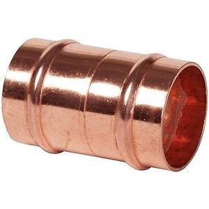 End Feed Solder Ring Straight Coupling 22mm (Clearance) - Trade Angel