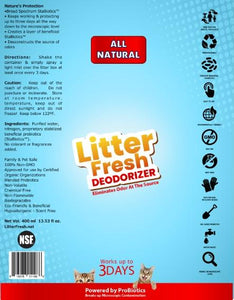 Probiotic Litter Fresh Deodorizer  spray (for cats & kittens ) - 400ml