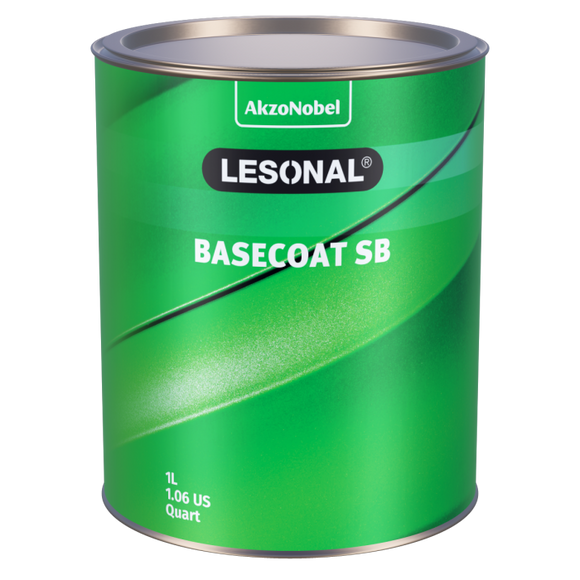 Lesonal Basecoat SB 95X Green (Yellow) Sparkle 1L