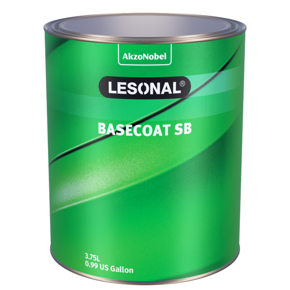 Lesonal Basecoat SB 23 Deep Black 3.75L