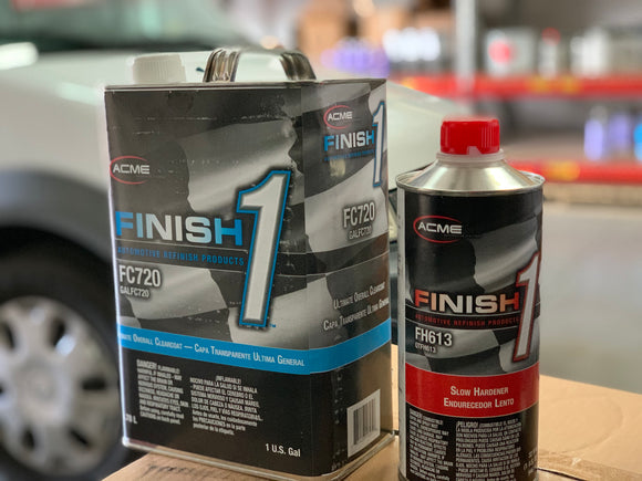 Finish1 Clearcoat kit