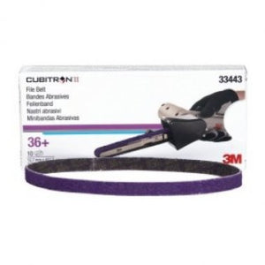 "3M 33443 1/2""X18"" 36G FILE BELT CUBITRON II BOX/10"