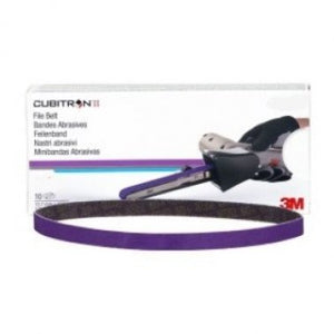 "3M 33446 1/2""X18"" 80G FILE BELT CUBITRON II BOX/10"
