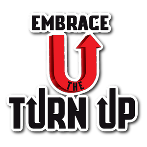 Turn Up sticker