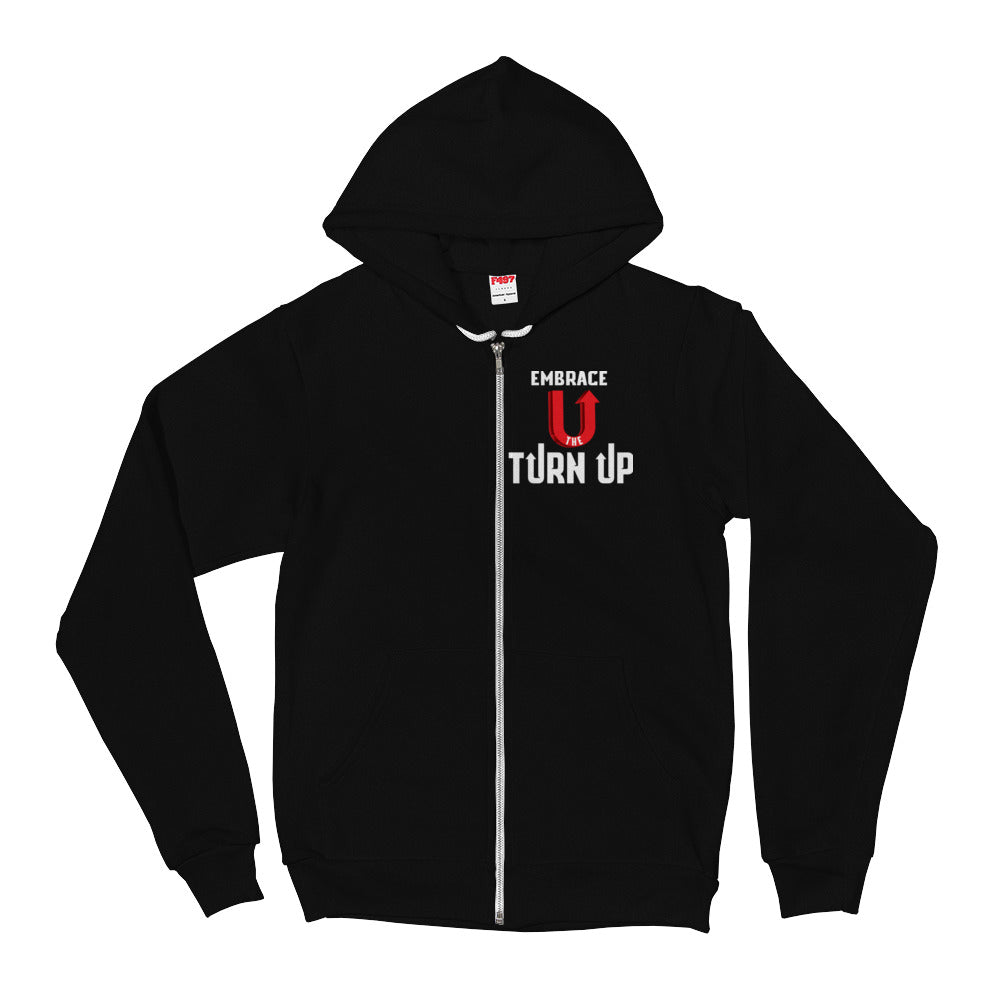 Embrace the Turn Up hoodie2