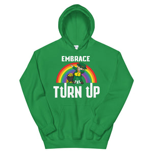 St. Patrick's day Turn Up Hoodie