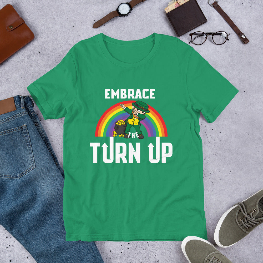 St. Patrick's day turn up tee