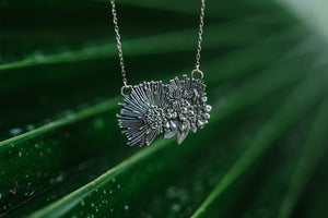 NEW! Hopoelehuaopuna Sterling Silver Necklace