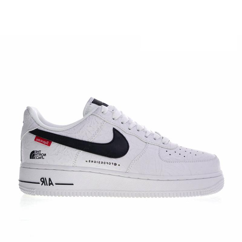 new arrival c7c5e 81700 Nike x Supreme x The North Face Air Force One 1 Low white