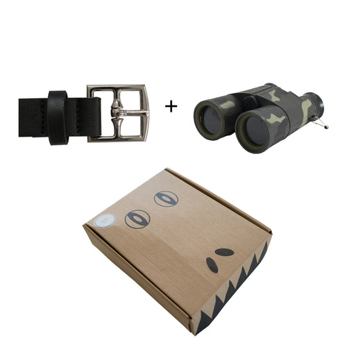 Belt & Binoculars Package