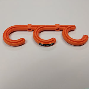 front image of tidi-hook, a triple hook safety product from temporary extension cords